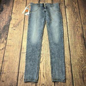 Freddy WR.UP Medium Blue Stonewash Trousers NEW